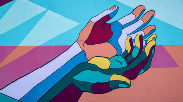 abstract hands