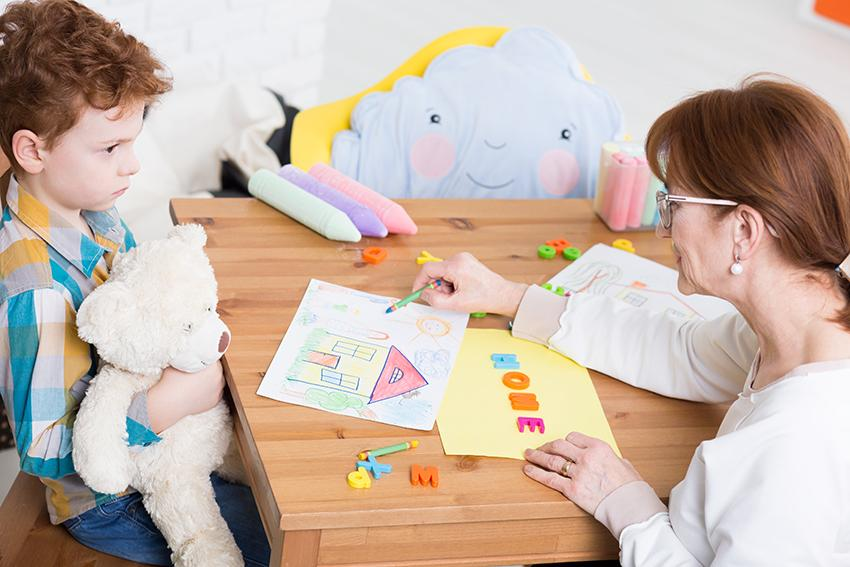 Talk to specialists in ASD