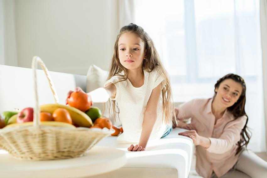 Think about your child's diet