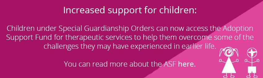 Increased Support for Children