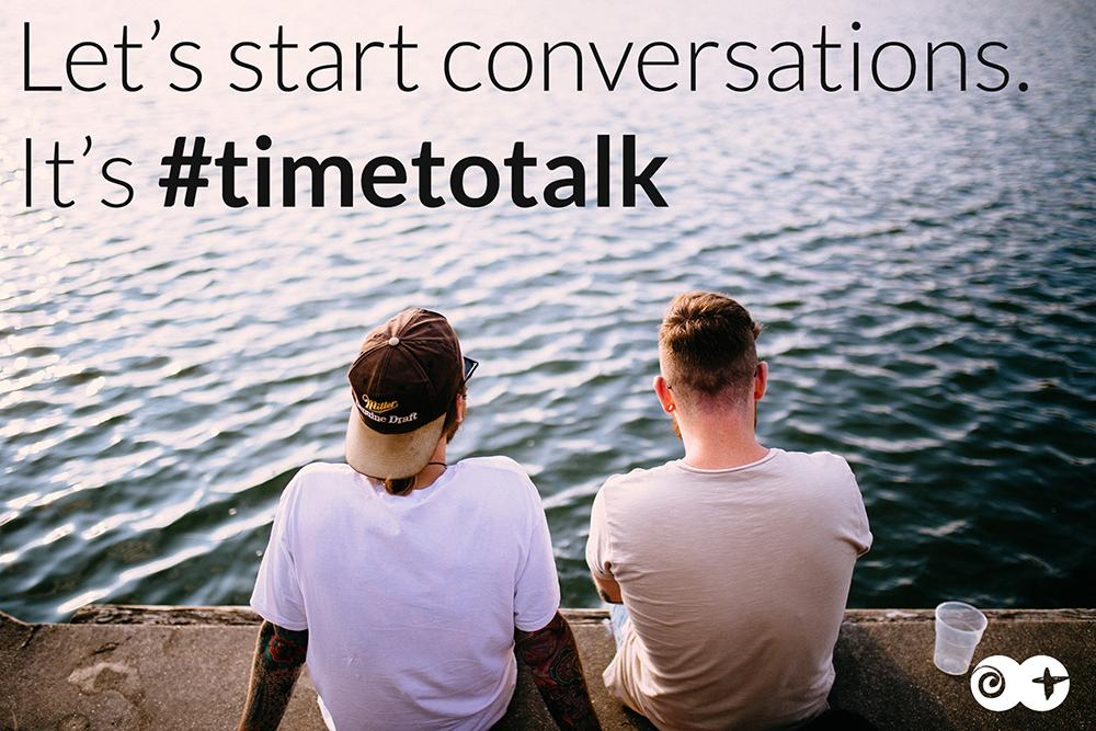 Let's start mental health conversations