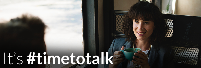 It's #timetotalk About Mental Health